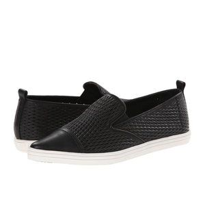 Rachel Zoe Chandler Calf Leather Slip On Sneakers